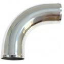 90 degree bend aluminum 51mm, 60cm