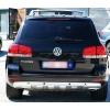 VW Touareg (02-06); Touareg (06-10) aizmugurējā bampera uzlika