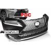 Lexus NX (14-17) priekšējais bamperis ar PDC, F Sport Look