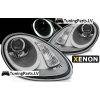 PORSCHE BOXSTER / CAYMAN 987 05-08 priekšējie lukturi, LED dayline, hrometi, xenona