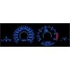 BMW E38; E39; E53 X5 plazmas spidometri 20-240km/h, dīzelis, balti