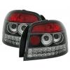 Audi A3 8P (03-08) aizmugurējie LED lukturi, melni