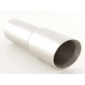 Exhaust muffler tip, round, 89mm, inclined ending, lenght - 13cm Inlet - 76mm