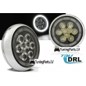 Mini Cooper LED priekšējie miglas lukturi RALLY STYLE, DRL, R87