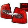 Opel Astra G (98-04) 3/5 durvju hečbeka aizmugurējie LED lukturi, sarkani