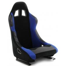 Krēsls Monza, melns/zils