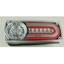 Mercedes-Benz W463 (92-06) LED tail lights, chrome