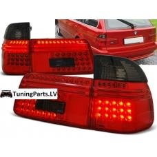 BMW E39 touring aizmugurējie LED lukturi, tonēti