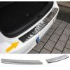 Renault Clio (12-...) aizmugures bampera aizsargs, hromēts