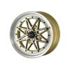 Alumīnija diski Drag DR20 15x7 ET40 4x100 Gold Machined