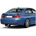 BMW F30 / F31 (11-...) aizmugurējā bampera difuzors, M-pack
