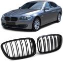 BMW GT F07 (09-...) Priekšējās restes, melnas