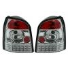 Audi A4 B5 (94-01) avant LED aizmugurējie lukturi, hromēti