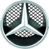 Mercedes Benz X204 GLK-class (08-...) priekšējās restes zvaigzne