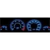 Opel Corsa B; Tigra spidometri 20-200km/h, 7000 RPM, balti