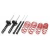 Citroen C4 (04-10) 1.4l, 1.6l TA Technix amortizatori + atsperes, sēdinājums 35/25mm