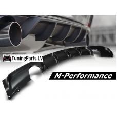 BMW F30 / F31 (11-...) M-performance / M-tech aizmugurējā bampera difuzors