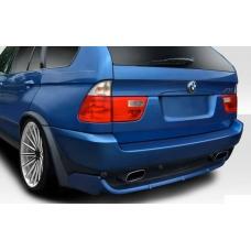 BMW X5 E53 (99-06) aizmugurējā bampera uzlika 4.8 is