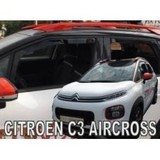 Citroen C3 Aircross (17-...) logu deflektori, 4 gab.
