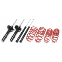 Honda Concerto (89-94) TA Technix shock absorbers + springs, lowered 35/35mm