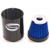 Simota gaisa filtrs 76mm ieeja, karbona