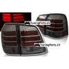 Toyota Land Cruiser FJ200 (07-15) aizmugurējie LED lukturi, tonēti