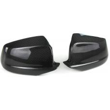 BMW F10 F11 (10-13) spoguļu uzlikas, Carbona