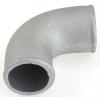 Lietā alumīnija līkums 90 grādu 70mm