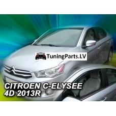 Citroen C-Elysse (12-...) sedan, logu deflektori, 4 gab.