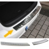 Hyundai I30 (12-...) aizmugures bampera aizsargs, hromēts