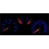 Renault Megane I; Scenic (99-01) plazmas spidometri 20-240km/h, 7000 RPM, balti