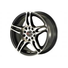 Alumīnija diski Drag DR50 15x6,5 ET40 5x100/114,3 Gloss Black Mach