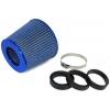 Tenzo-r gaisa filtrs 60mm-76mm ieeja, zils
