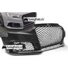 Audi A3 (12-16) priekšējais bamperis, melns/glancēts RS3 styl