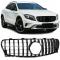 Mercedes GLA X156 (13-...) priekšējā reste, melna/glancēta