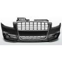 Audi A4 B7 (04-08) front bumper S-line style, black/chrome