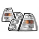 BMW E46 kupejas (98-03) aizmugurējie lukturi, hromēti