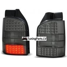 VW T5 (03-10) aizmugurējie LED lukturi, tonēti