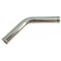 45 degree aluminium pipe 40mm, 60cm