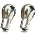 Chrome/orange bulbs - for corner lights, inclined