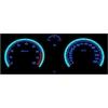 Opel Zafira B; Astra H plazmas spidometri 0-260km/h , 8000 RPM, balti