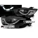 Mazda XC5 (11-15) priekšējie lukturi, LED dayline, R87, melni, xenona