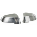 BMW GT F07 / F10 / F11 / F18 / F01 / F02 spoguļu uzlikas, alumīnija/matētas