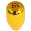 Ātruma pārslēgs, alumīnija, zelta JDM 5B M10x1.25