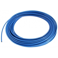Degvielas gumijas pītā caurule 3mm, zila