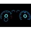 Audi A3 8L (96-03) plazmas spidometri 0-260km/h, balti