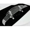 Akrila antispārns 136cm dubultais, 7 krāsu LED
