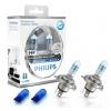 H4 Philips White Vision Xenon effect spuldzes