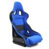 Krēsls RICO, melns/zils, + sliedes