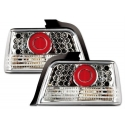 BMW E36 sedan LED tail lights, chrome